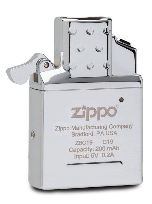 Zippo - Arc Lighter Insert Front Side Angled