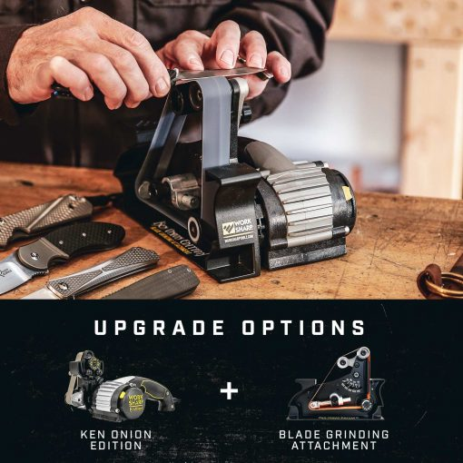 Work Sharp - Ken Onion Edition Knife and Tool Sharpener Infographic