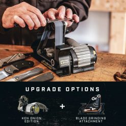 Work Sharp - Blade Grinding Attachment for the Ken Onion Edition Sharpener Infographic