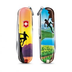 Victorinox Limited Edition 2020 Classic SD - Climb High Front Side and Back Side