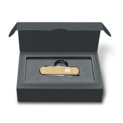 Victorinox Limited Edition 2019 Classic SD Alox Champagne In Box