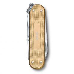 Victorinox Limited Edition 2019 Classic SD Alox Champagne Back Side Closed
