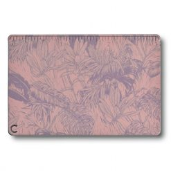 Victorinox SwissCard Classic Spring - Spirit Rose and Lilac Botanical Print Back Side Closed