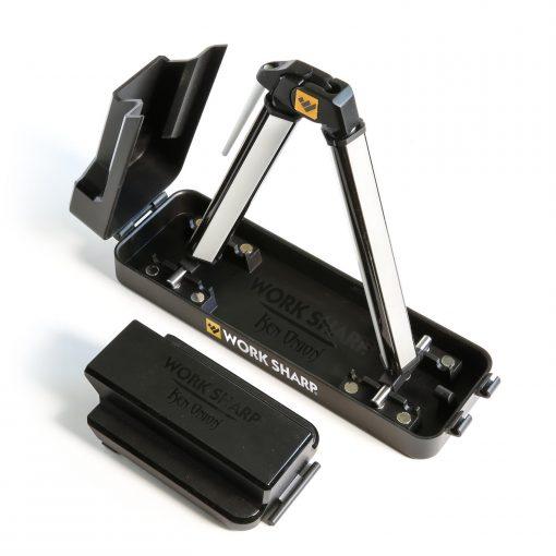Work Sharp Angle Set Sharpener with Tri-Brasive Front Side