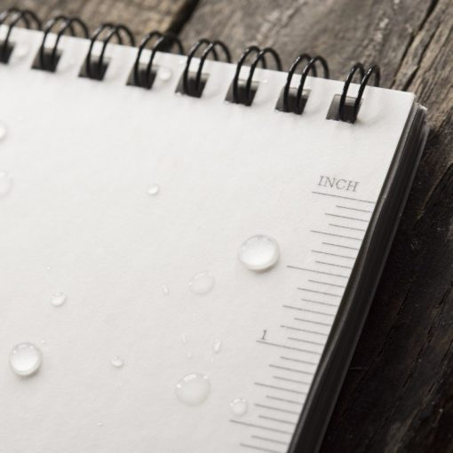 Rite in the Rain Top Spiral Legal Pad Page Close Up 2