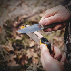 Work Sharp Guided Field Sharpener In Use With Hands 2