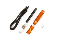 Exotac nanoSTRIKER XL Self-Contained Ferrocerium Firestarter - Orange All Parts