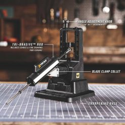 Work Sharp - Precision Adjust Sharpener with Tri-Brasive Features