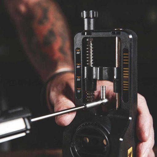 Work Sharp - Precision Adjust Sharpener with Tri-Brasive Arm