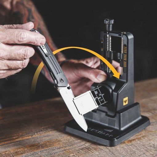 Work Sharp - Precision Adjust Sharpener with Tri-Brasive Clamp