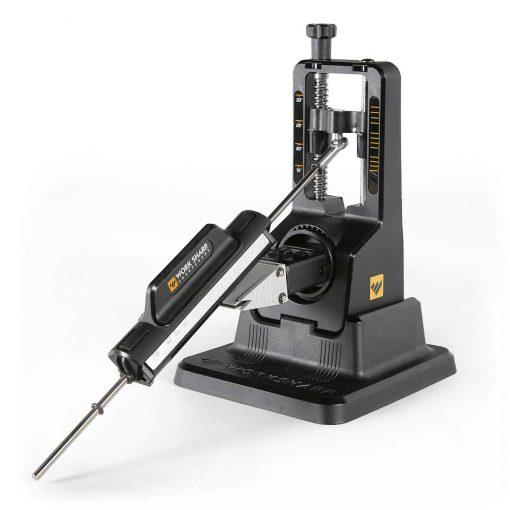 Work Sharp - Precision Adjust Sharpener with Tri-Brasive Front Side