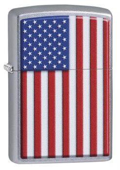 Zippo - Patriotic Design Lighter Front Side Closed