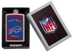 Zippo - NFL Buffalo Bills Design Lighter Front Side Closed in Box