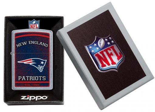 Zippo - NFL New England Patriots Design Lighter in Box