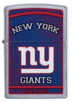 Zippo - NFL New York Giants Design Lighter Front Side Closed