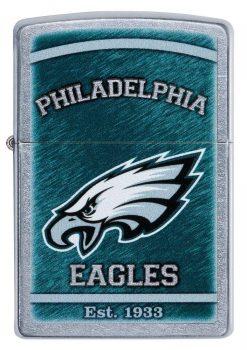 Zippo - NFL Philadelphia Eagles Design Lighter Front Side Closed