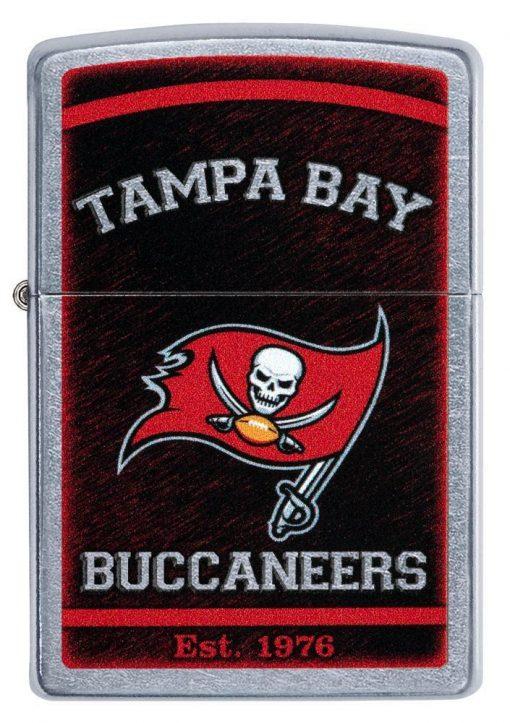 Zippo - NFL Tampa Bay Buccaneers Design Lighter Front Side Closed