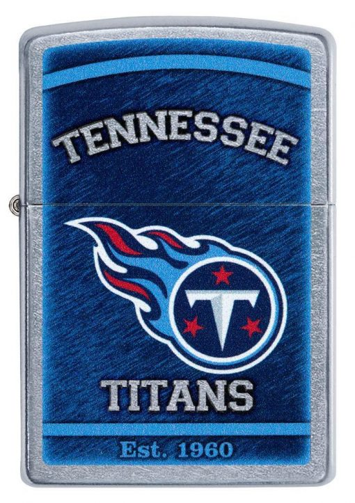 Zippo - NFL Tennessee Titans Design Lighter Front Side Closed