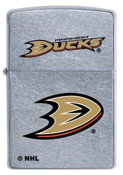 Zippo - Anaheim Ducks Design Lighter Front Side Closed