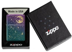 Zippo - Starry Sky Lighter Front Side Closed in Box