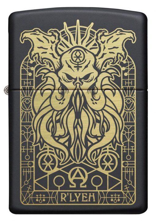 Zippo - Monster Design Lighter Front Side Closed