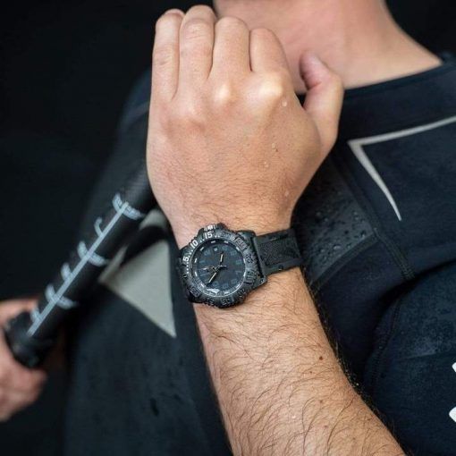 Luminox Original Navy SEAL Colormark 3051.GO.NSF Black/Black With Hand