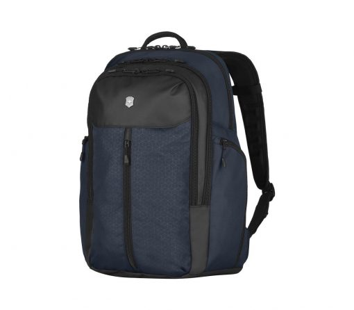 Victorinox - Altmont Original Vertical-Zip Laptop Backpack - Blue Front Side Angled Left