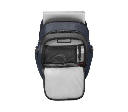 Victorinox - Altmont Original Vertical-Zip Laptop Backpack - Blue Front Side Open