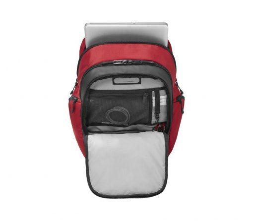 Victorinox - Altmont Original Vertical-Zip Laptop Backpack - Red Front Side Open