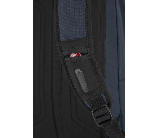 Victorinox - Altmont Original Standard Backpack - Blue Strap Pocket Close Up