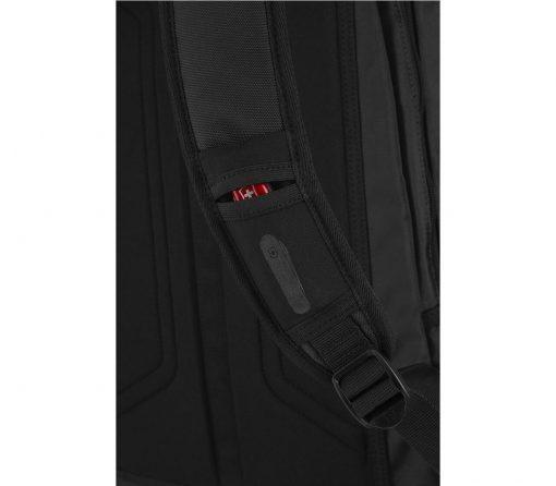 Victorinox - Altmont Original Laptop Backpack - Black Strap Pocket Close Up