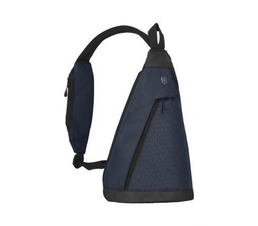 Victorinox - Altmont Original Dual-Compartment Monosling - Blue Front Side Strap Out