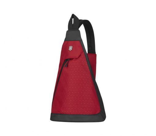 Victorinox - Altmont Original Dual-Compartment Monosling - Red Front Side Angled Left
