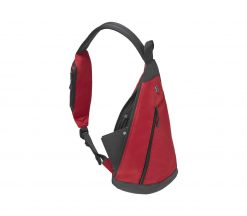 Victorinox - Altmont Original Dual-Compartment Monosling - Red Front Side Angled Right