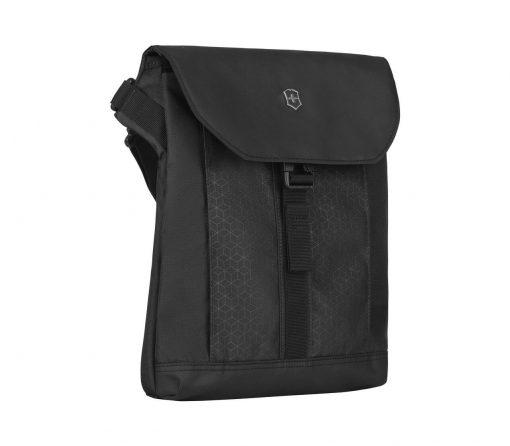Victorinox - Altmont Original Flapover Digital Bag - Black Front Side Angled Right