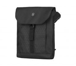 Victorinox - Altmont Original Flapover Digital Bag - Black Front Side Angled LEft