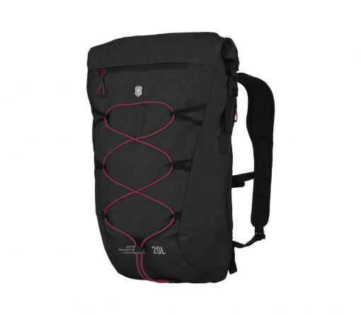 Victorinox - Altmont Active Lightweight Rolltop Backpack - Black Front Side Angled Left