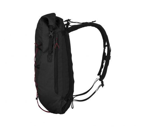 Victorinox - Altmont Active Lightweight Rolltop Backpack - Black Side Profile