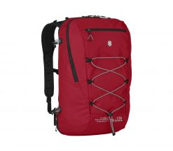 Victorinox - Altmont Active Lightweight Expandable Backpack - Red Front Side Angled Right