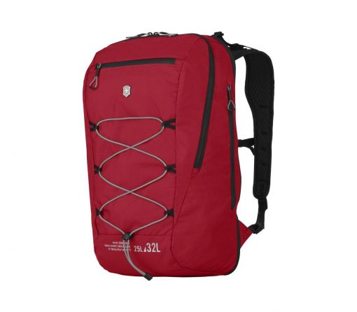 Victorinox - Altmont Active Lightweight Expandable Backpack - Red Front Side Angled Left