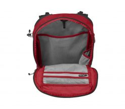 Victorinox - Altmont Active Lightweight Expandable Backpack - Red Front Side Open