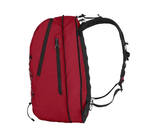 Victorinox - Altmont Active Lightweight Expandable Backpack - Red Side Profile