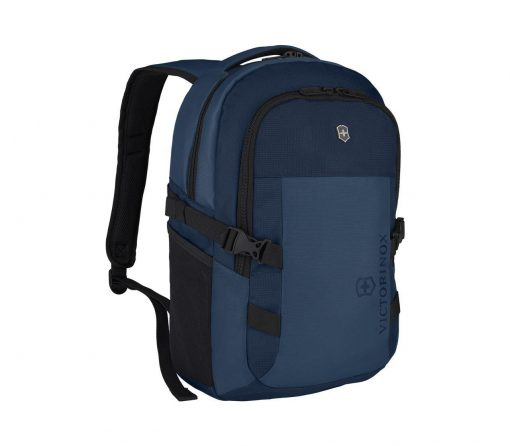 Victorinox - VX Sport EVO Compact Backpack - Blue Front Side Angled Right
