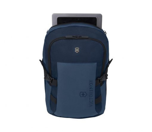 Victorinox - VX Sport EVO Compact Backpack - Blue Front Side With laptop