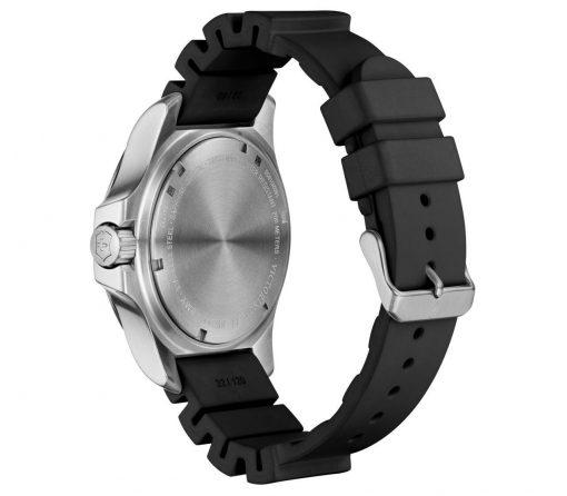 Victorinox - I.N.O.X. Professional Diver - Black Rubber Strap Back Side Angled Left