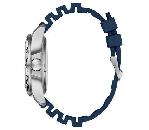 Victorinox - I.N.O.X. Professional Diver - Blue Rubber Strap Side Profile