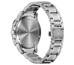 Victorinox - Alliance Sport Chronograph - Stainless Steel Strap Back Side Closed Angled Left