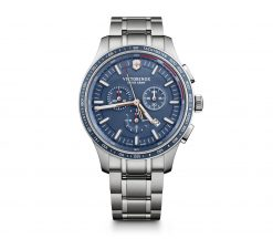 Victorinox - Alliance Sport Chronograph - Stainless Steel Strap Front Side Center