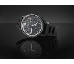 Victorinox - Alliance Sport Chronograph - Black Rubber Strap Front Side Horizontal With Background