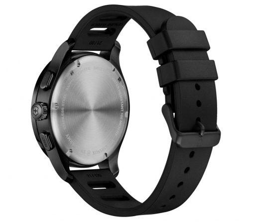 Victorinox - Alliance Sport Chronograph - Black Rubber Strap Back Side Angled Left